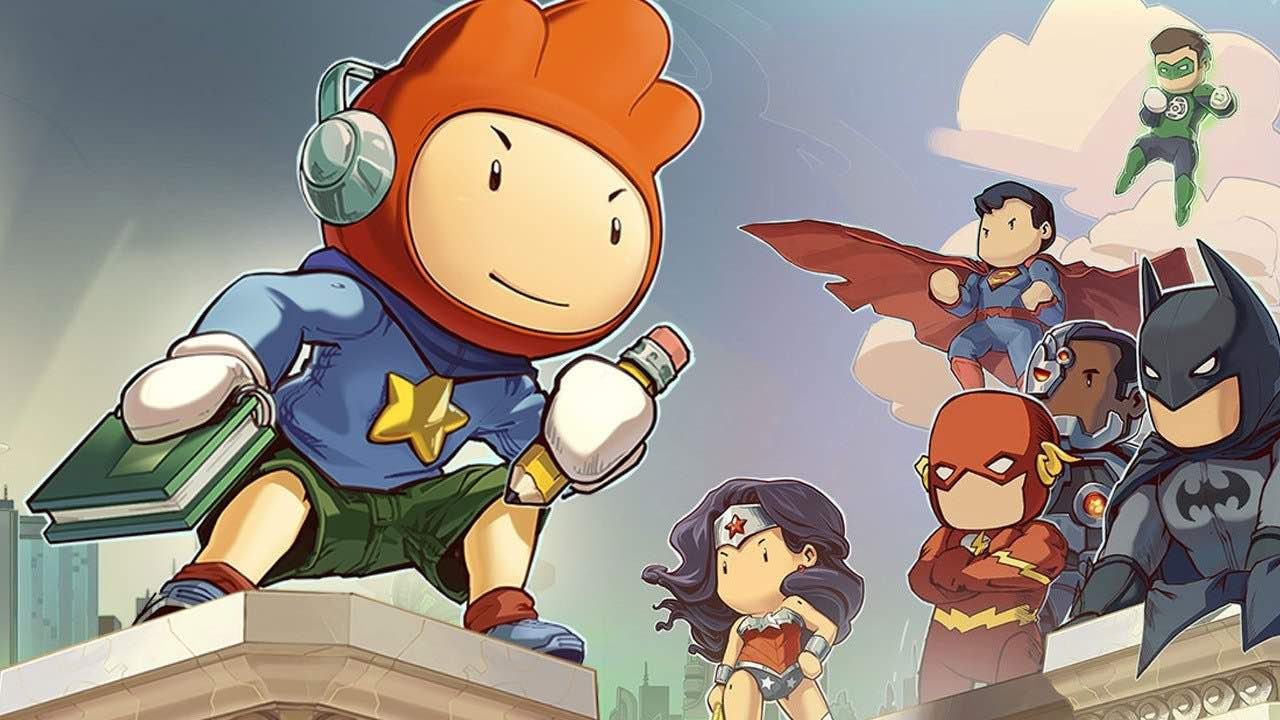 Two-Game Scribblenauts Mega Pack Collection Puzzles Nintendo Switch