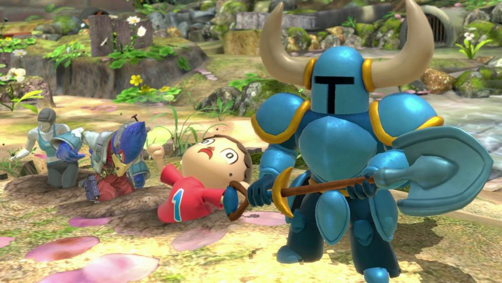 Shovel Knight Super Smash Bros. Ultimate Screenshot