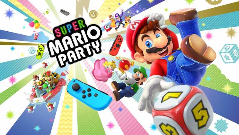 Super Mario Party Artwork