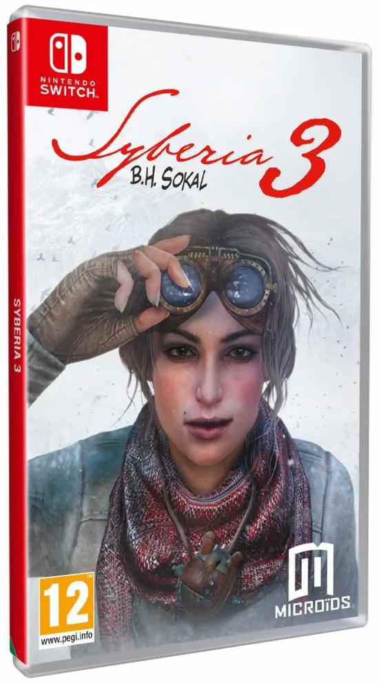 Syberia 3 Switch Box Art