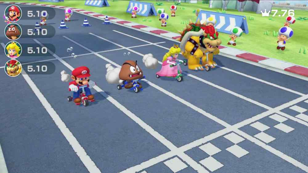 Trike Harder Super Mario Party Screenshot