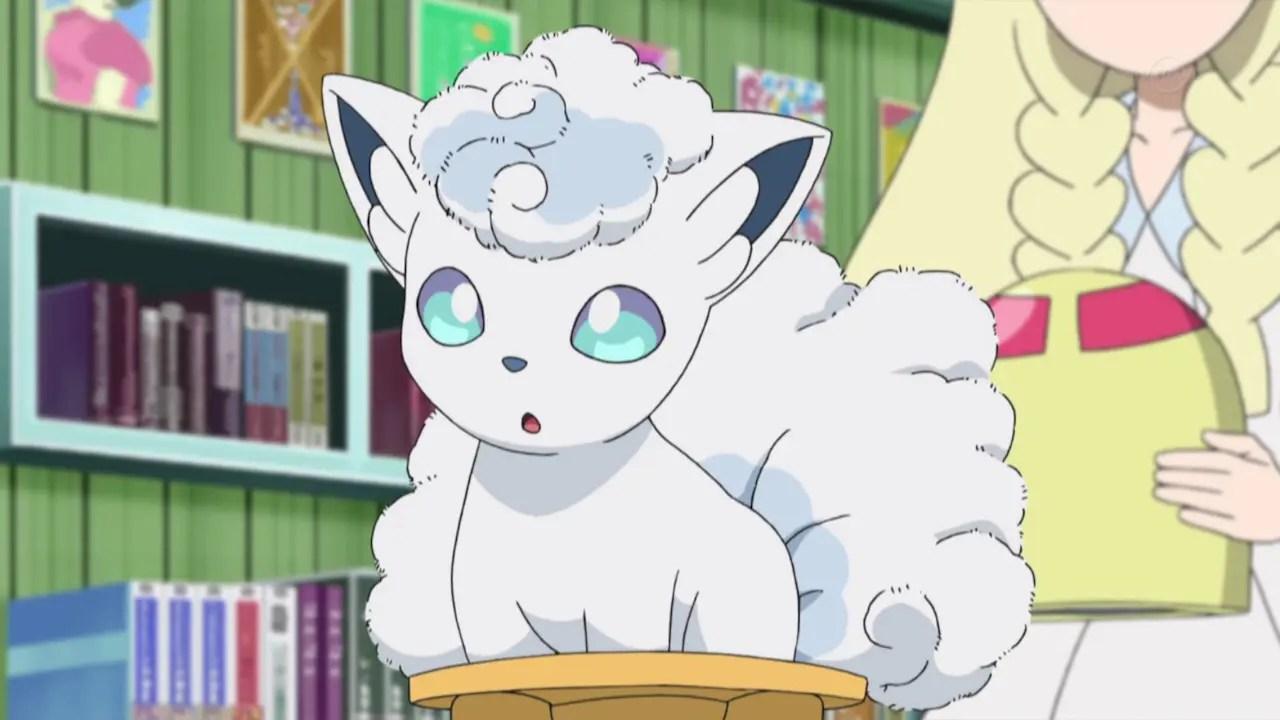 Alolan Vulpix Anime Screenshot