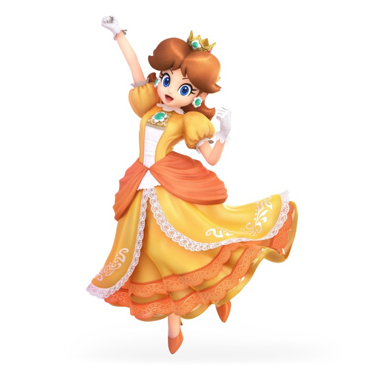 Daisy Super Smash Bros. Ultimate Character Render