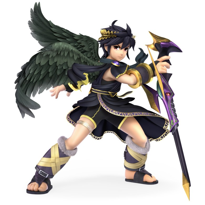 Dark Pit Super Smash Bros. Ultimate Character Render