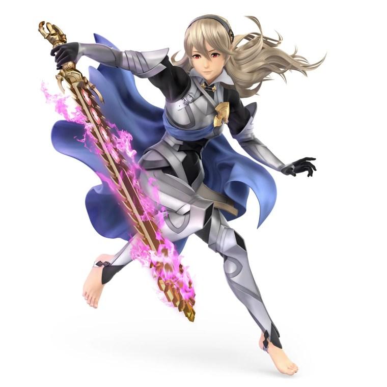 Female Corrin Super Smash Bros. Ultimate Character Render