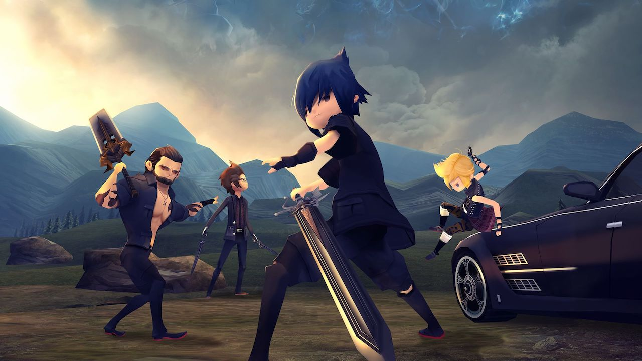 final fantasy xv pocket edition hd out now on nintendo switch
