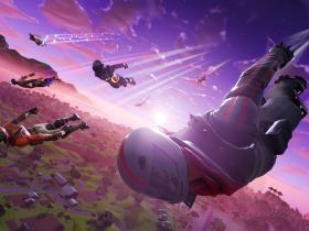 Fortnite Skydiving Artwork
