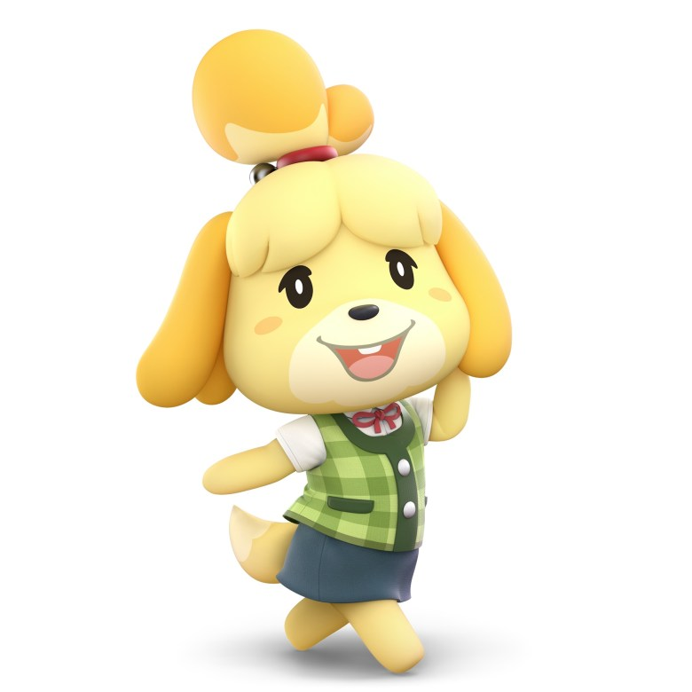 Isabelle Super Smash Bros. Ultimate Character Render