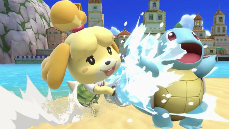 Isabelle Super Smash Bros. Ultimate Screenshot