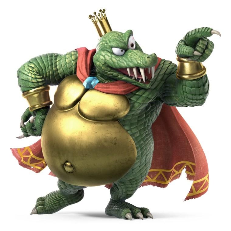 King K. Rool Super Smash Bros. Ultimate Character Render