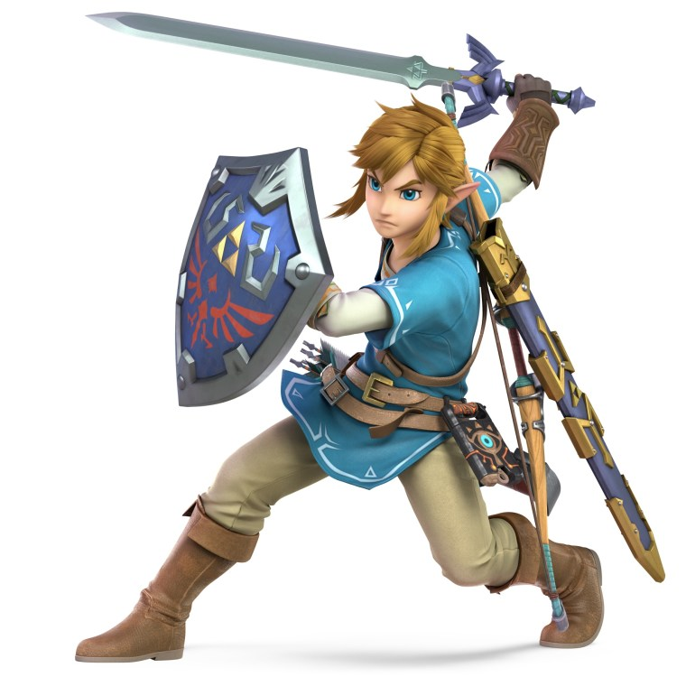 Link Champion's Tunic Super Smash Bros. Ultimate Character Render