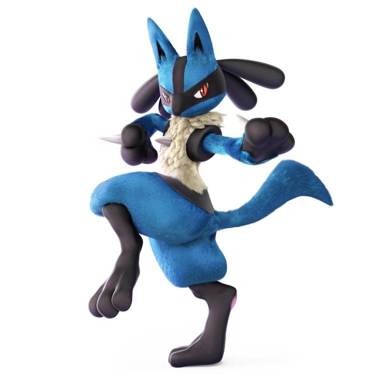 Lucario Super Smash Bros. Ultimate Character Render