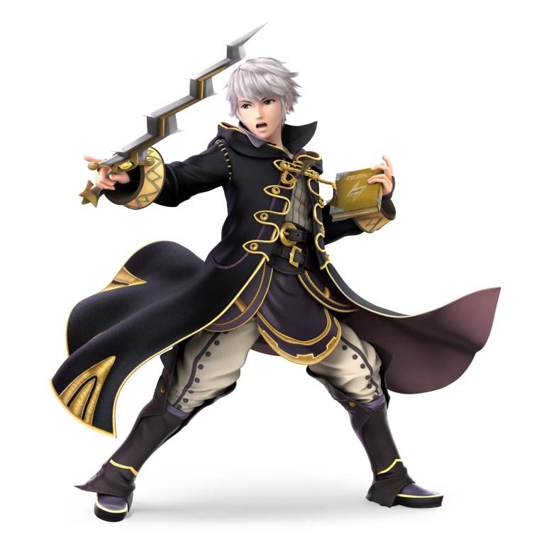 Male Robin Super Smash Bros. Ultimate Character Render