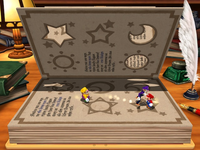 Mario Party 4 Booksquirm Screenshot