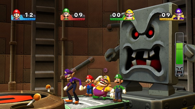 Mario Party 9 Whomp Stomp Screenshot