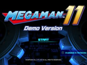 Mega Man 11 Demo Screenshot