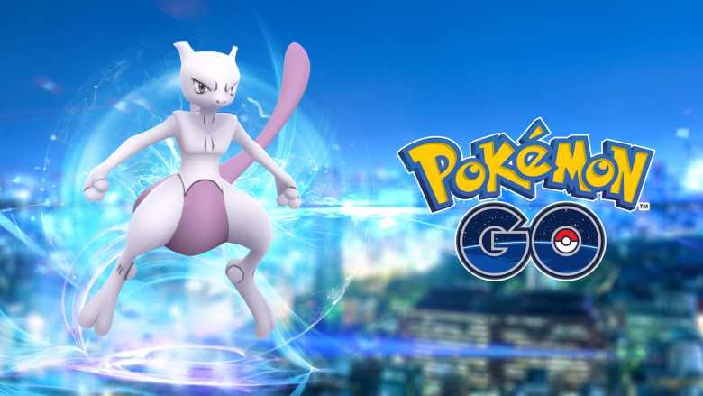 Mewtwo Pokémon GO Screenshot