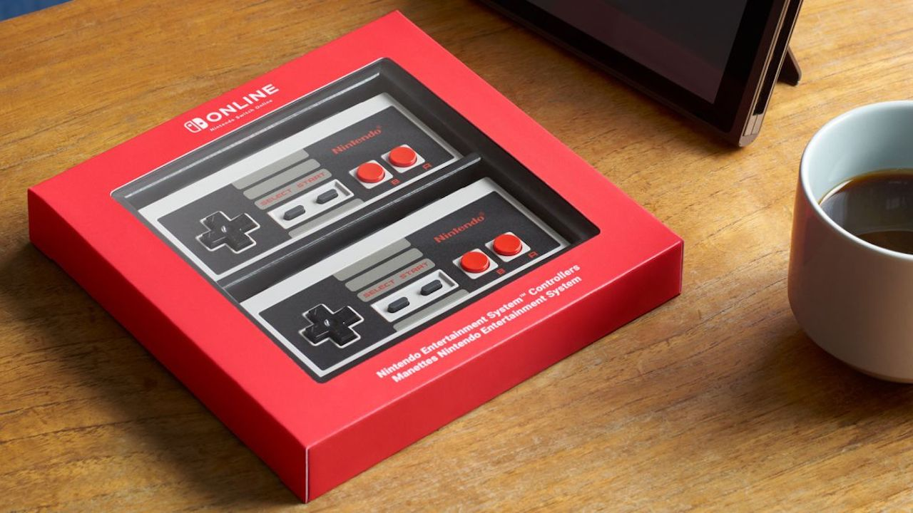 NES Controllers Nintendo Switch Photo
