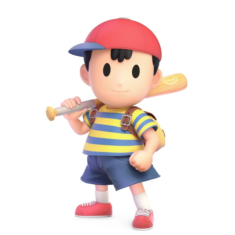 Ness Super Smash Bros. Ultimate Character Render