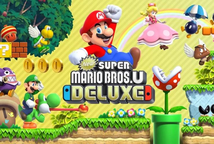 New Super Mario Bros. U Deluxe Illustration
