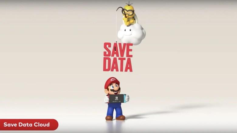 Nintendo Switch Cloud Saves Image