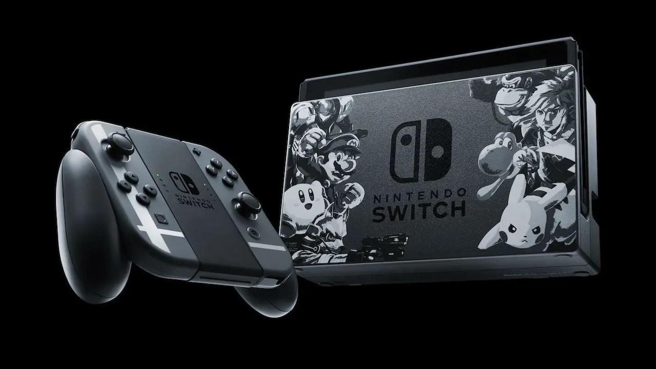 Nintendo Switch Super Smash Bros Ultimate Edition Bundle Revealed Nintendo Insider