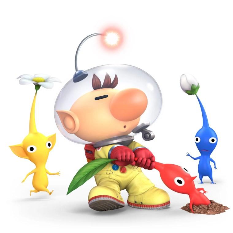 Olimar Super Smash Bros. Ultimate Character Render
