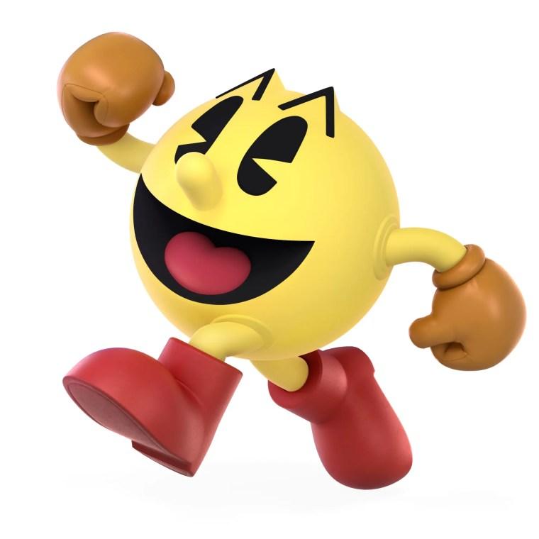 PAC-MAN Super Smash Bros. Ultimate Character Render