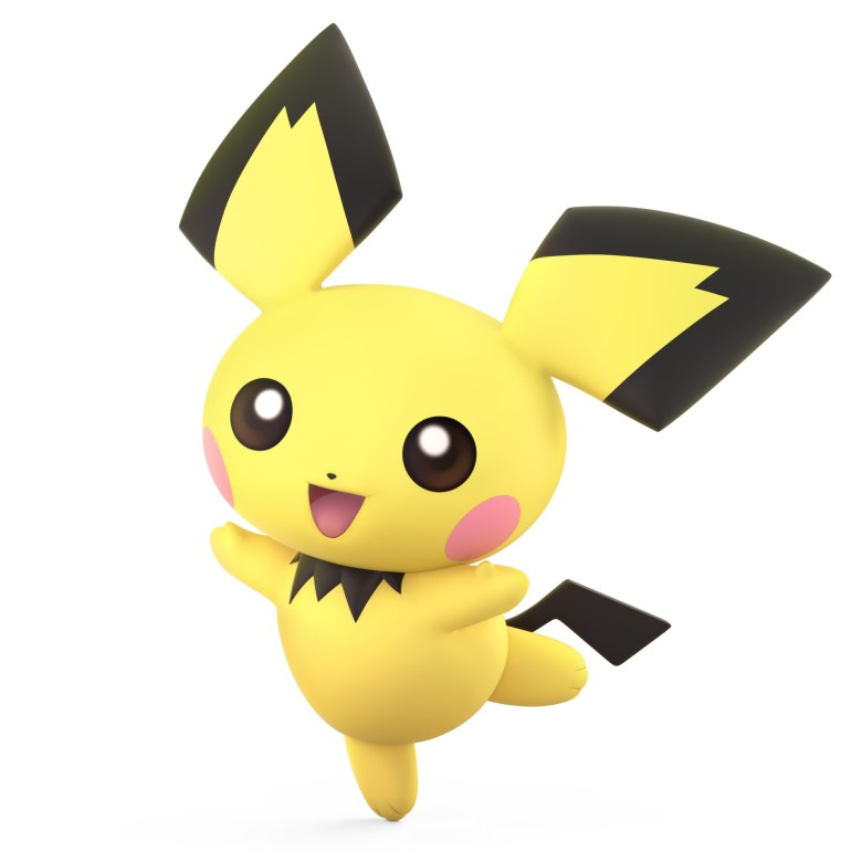 Pichu Super Smash Bros. Ultimate Character Render