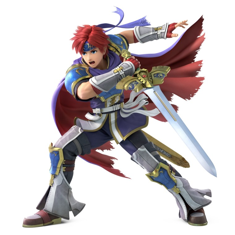 Roy Super Smash Bros. Ultimate Character Render