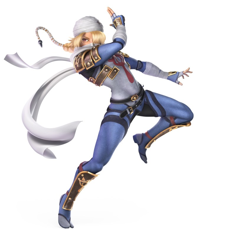 Sheik Super Smash Bros. Ultimate Character Render