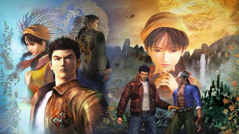Shenmue I And II Key Art