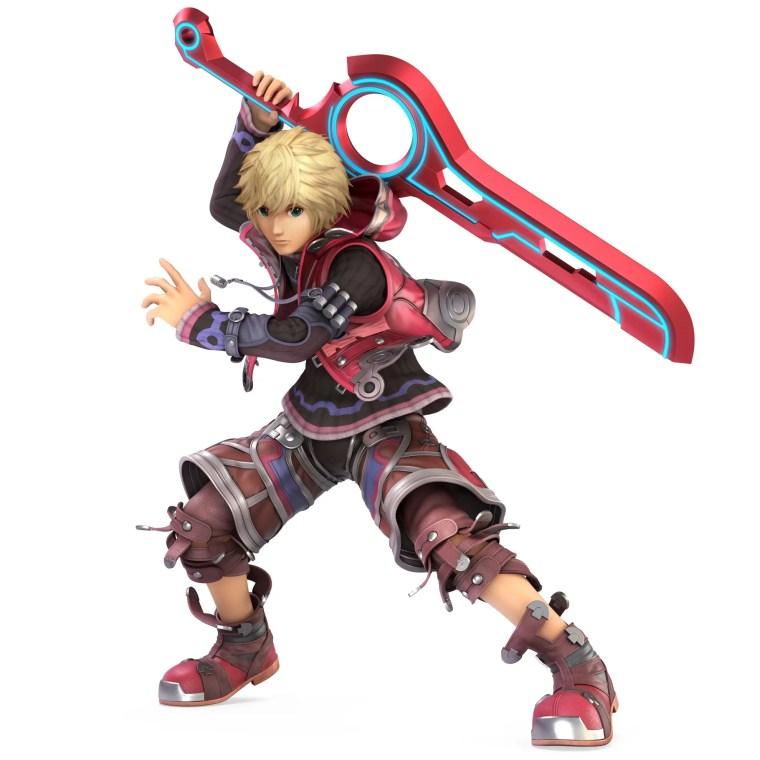 Shulk Super Smash Bros. Ultimate Character Render