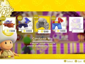 Super Mario Odyssey Conductor Outfit Screenshot