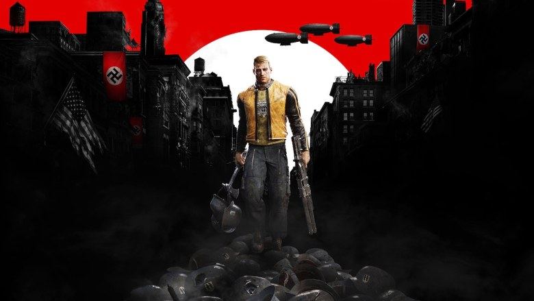 Wolfenstein II: The New Colossus Key Art