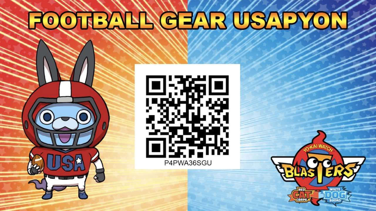 yo kai watch blasters qr codes and passwords unlock equipment and