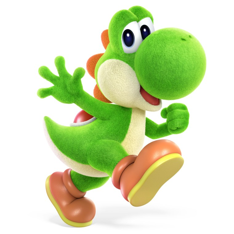 Yoshi's Crafted World Super Smash Bros. Ultimate Character Render