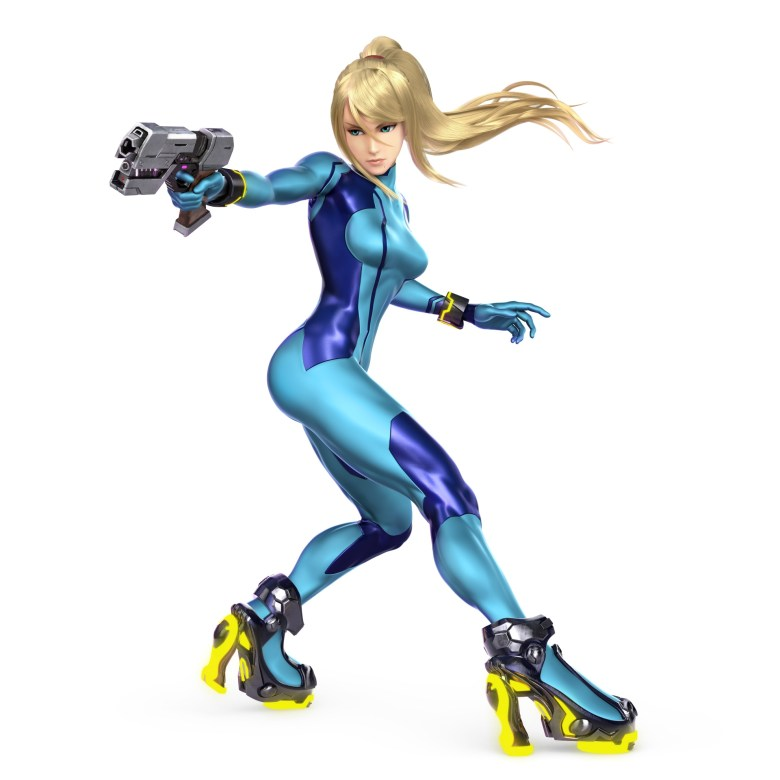 Zero Suit Samus Super Smash Bros. Ultimate Character Render