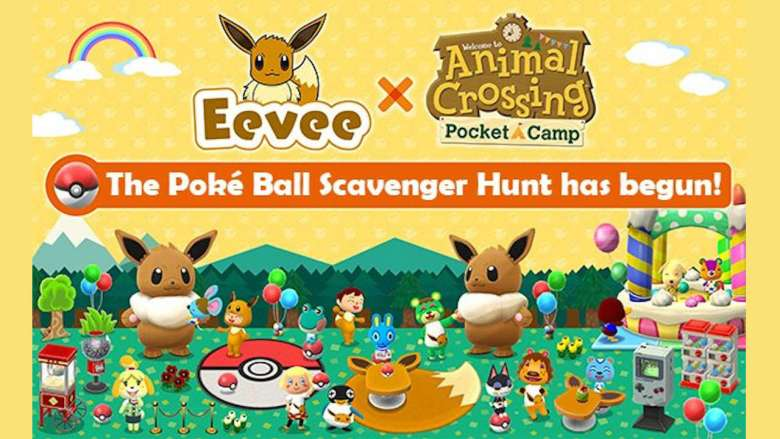Animal Crossing: Pocket Camp Eevee Event