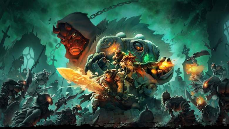 Battle Chasers Nightwar Key Art