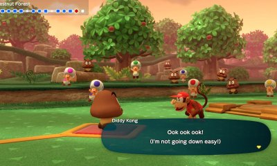 Diddy Kong Super Mario Party Screenshot
