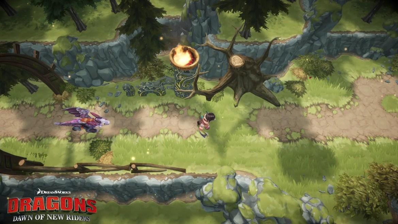 DreamWorks Dragons Dawn of New Riders Screenshot 1