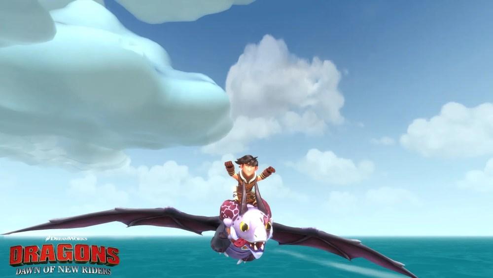 DreamWorks Dragons Dawn of New Riders Screenshot 4