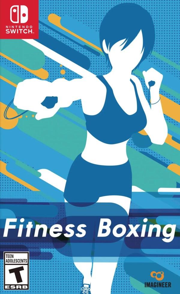 Fitness Boxing Switch Box Art