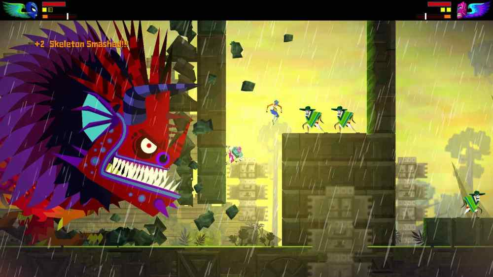 Guacamelee! Super Turbo Championship Edition Review Screenshot 3