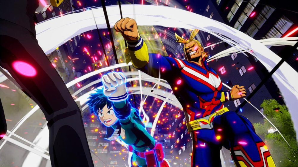 My Hero One's Justice Review Screenshot 1