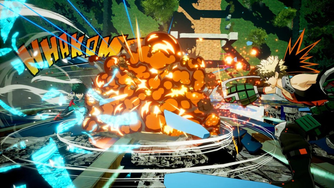My Hero One's Justice Review Screenshot 2