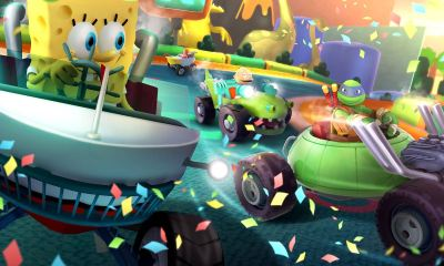 Nickelodeon Kart Racers Review Header