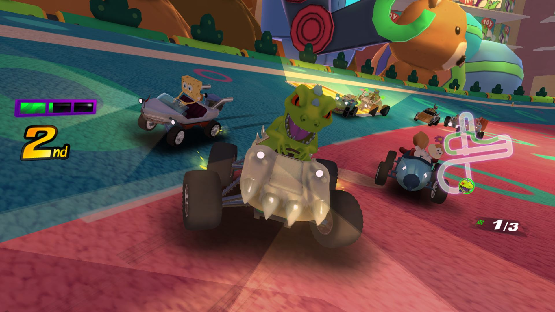Nickelodeon Kart Racers Review Screenshot 1