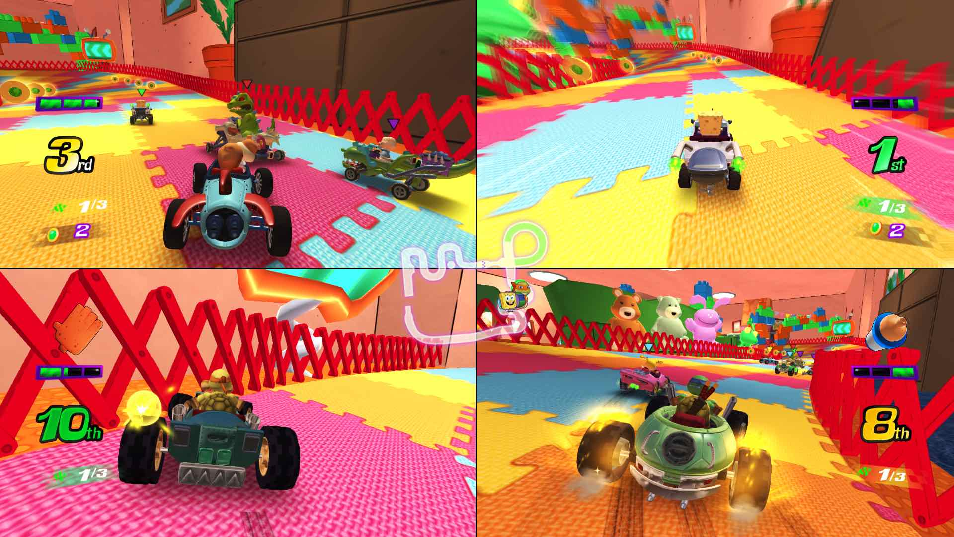 Nickelodeon Kart Racers Review Screenshot 3
